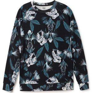 WEEKDAY Paris Printed Sweatshirt Tropical Floral